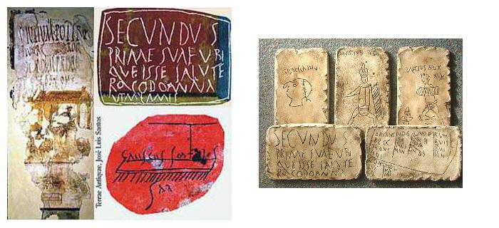 graffiti pompeya